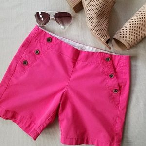 J. Crew Sailor Short in Bright Pink
